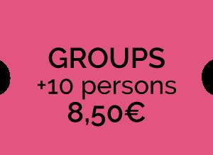 Entrada para grupos (+10)