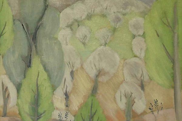 Juli Ramis _paisatge, ca 1932, oli tela
