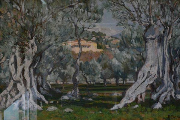 Paisatge amb oliveres de Bartomeu Lluís Ferrà i Juan